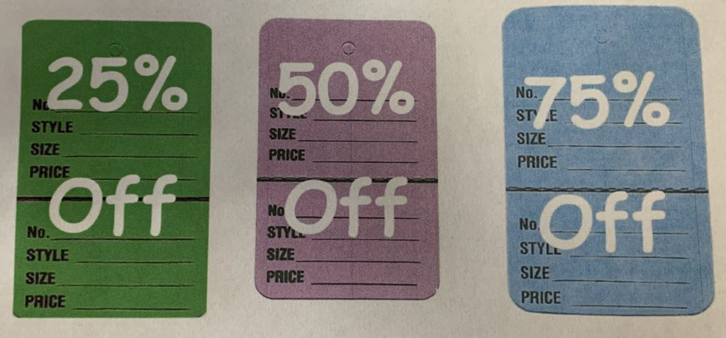 February / August / Monthly Sales Pricing
